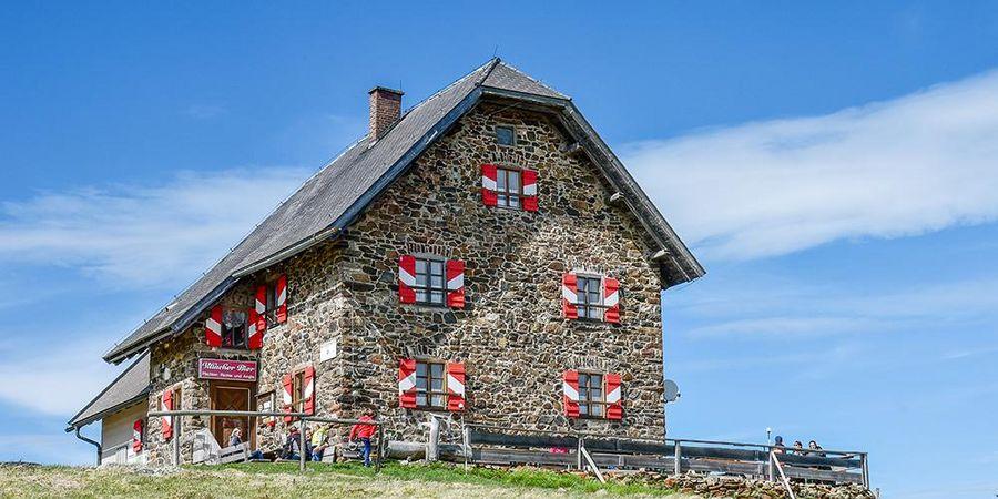 Almhütte, Saualm, Wolfsberger Hütte, Lavanttal, Unterkärntner