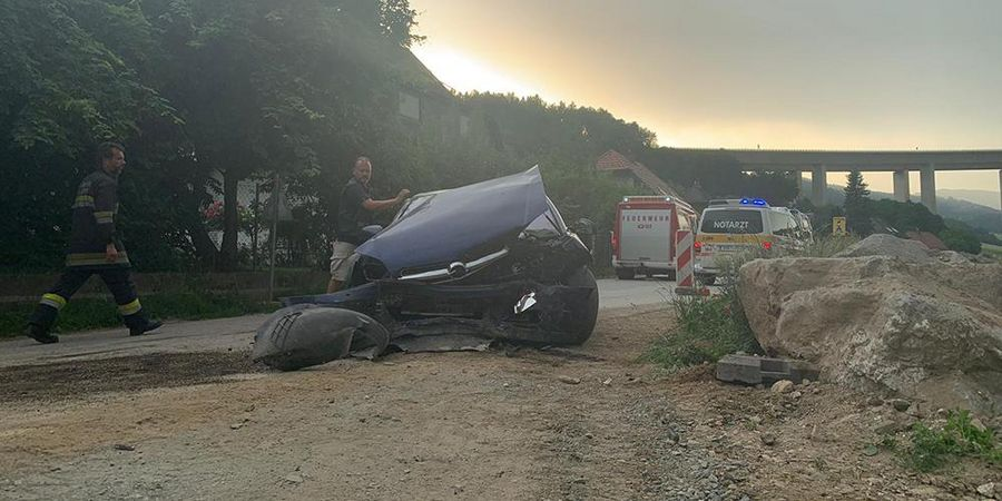 Unfall, Auen, Wolfsberg, Auto
