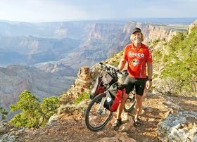 Mann, Mountain Bike, Grand Canyon, Peter Hauser